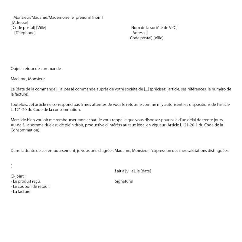 Annuler un achat par correspondance dans les 7jours - Achat par correspondance belgique ...