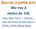 Blu ray à moins de 10 €
