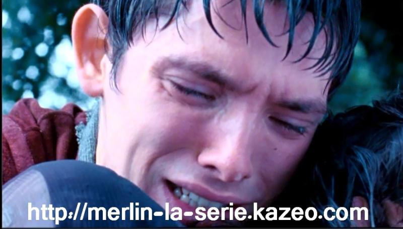 Merlin en pleurs
