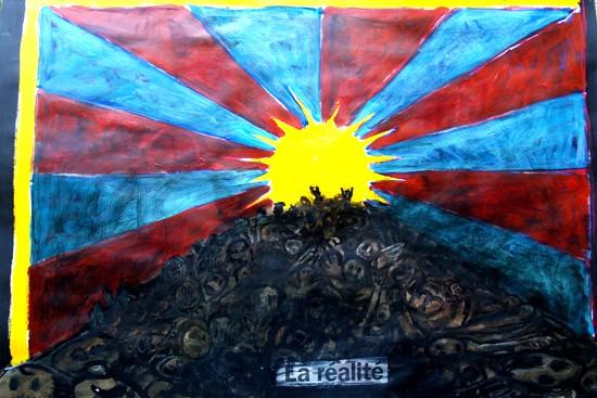 Tibet libre,lettre à un ami tibétain,chine,chinois,tibétain,tibet, mao zedong,peine de mort, exécution,invasion chinoise, invasion du tibet, art maniac, bmc, le blog de bmc, le peintre bmc, dalaï lama, inde,réfugié,les droits de l'homme, lhassa, potala, bouddhisme, panchen-lama,pékin , exécutions sommaires, jeux olympique, jo, jo 2008, l'ambassadeur de chine,prix nobel,amnesty international,