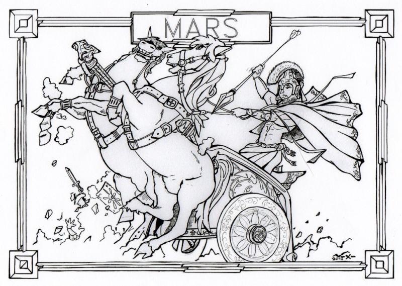 Fabuleux Line - Mars (Dieu Romain de la guerre) IZ79