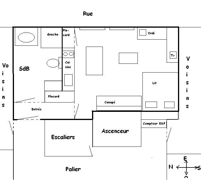 repositionner mes meubles fa on feng shui forum mode. Black Bedroom Furniture Sets. Home Design Ideas