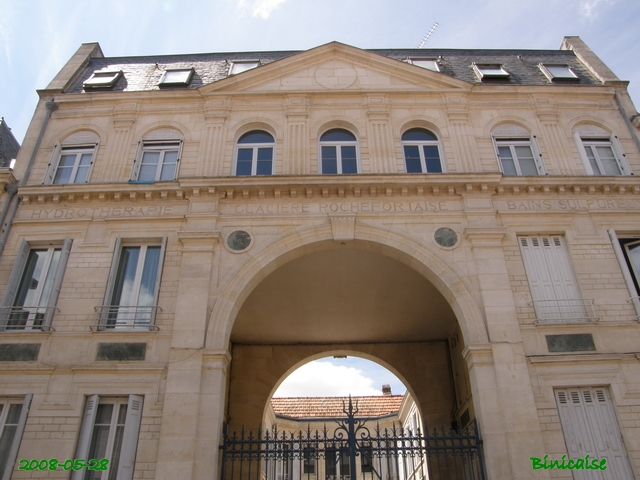 Belles façades Rochefortaises 01.  Ancien établissement de bains.  dans Autour de Rochefort belles10