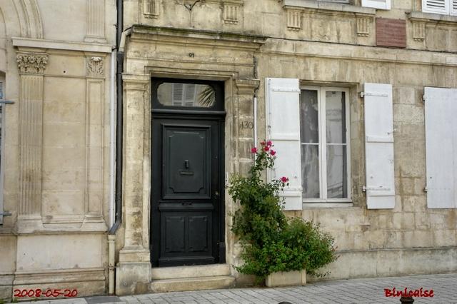 Belles façades Rochefortaises 05. Portes. dans Autour de Rochefort facade24