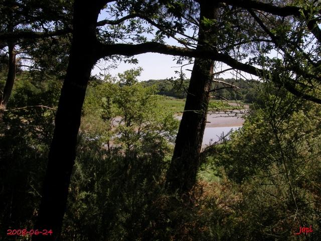 Le Loch à marée basse. dans Bretagne le_loc10