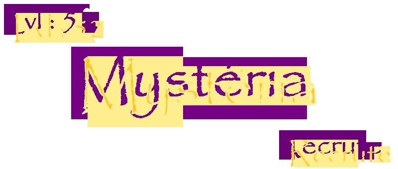 Guilde Mystéria