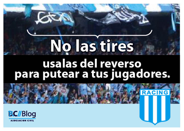 Racing y sus afiches