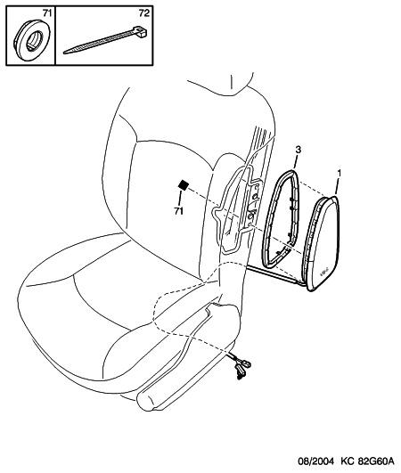 d montage air bag lat ral si ge cuir questions techniques peugeot 206 et 206 forum forum. Black Bedroom Furniture Sets. Home Design Ideas