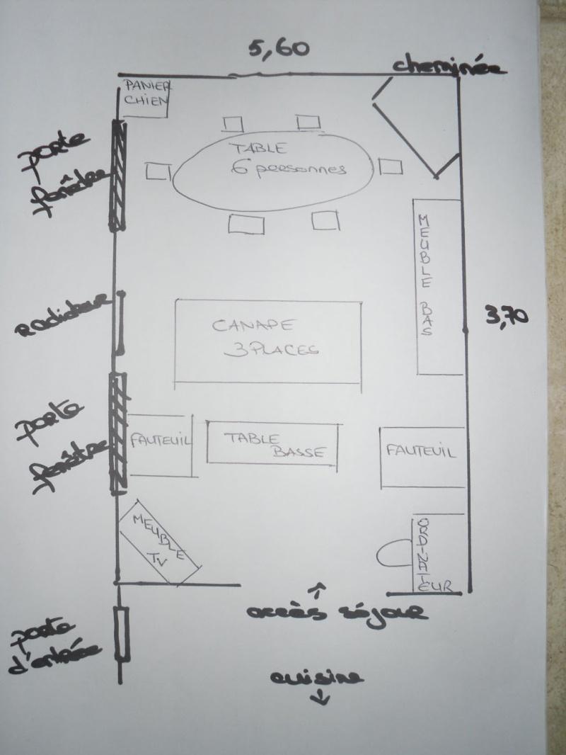 Disposition des meubles pour un petit salon salle manger for Table de salle a manger hemisphere sud