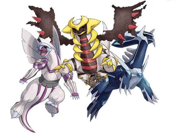 Galleria delle immagini trovate - Pokemon legendaire platine ...