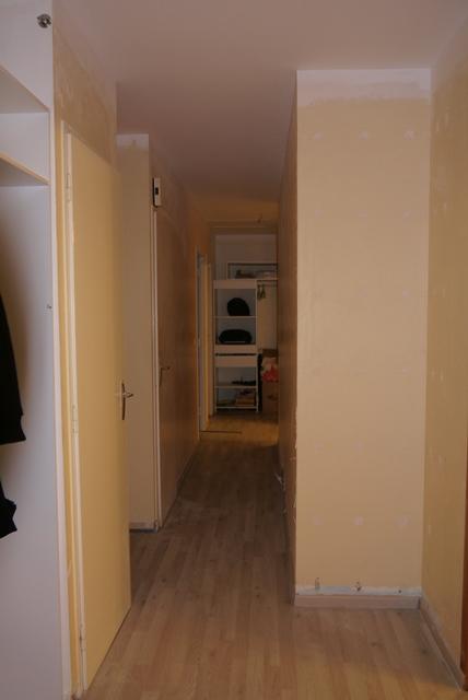 Besoin aide pour relooker pour salon salle mang couloir - Couleur peinture entree couloir ...