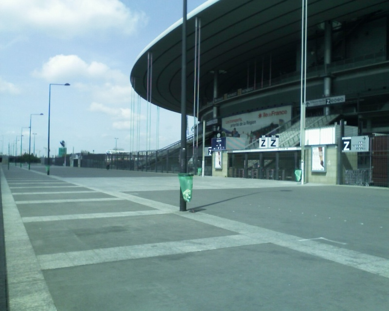 quelques photos du stade de france page 9