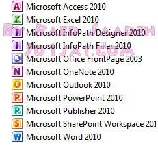 برنامج Microsoft Office Professional 2010 Full 64 + 32 bit
