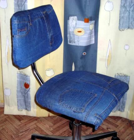 Обшиваем стул своими руками