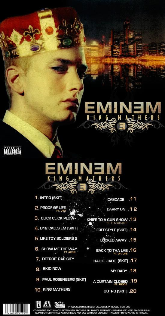 eminem king mathers