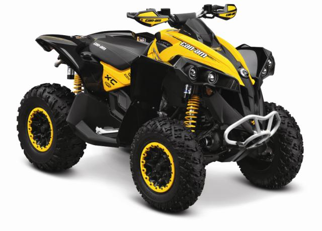 2012 can am outlander and renegade 1000cc yamaha grizzly atv forum. Black Bedroom Furniture Sets. Home Design Ideas