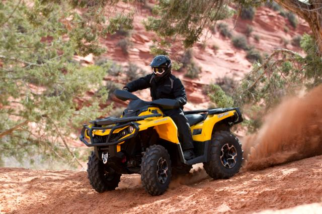 2012 can am outlander and renegade 1000cc yamaha for Yamaha grizzly 1000cc