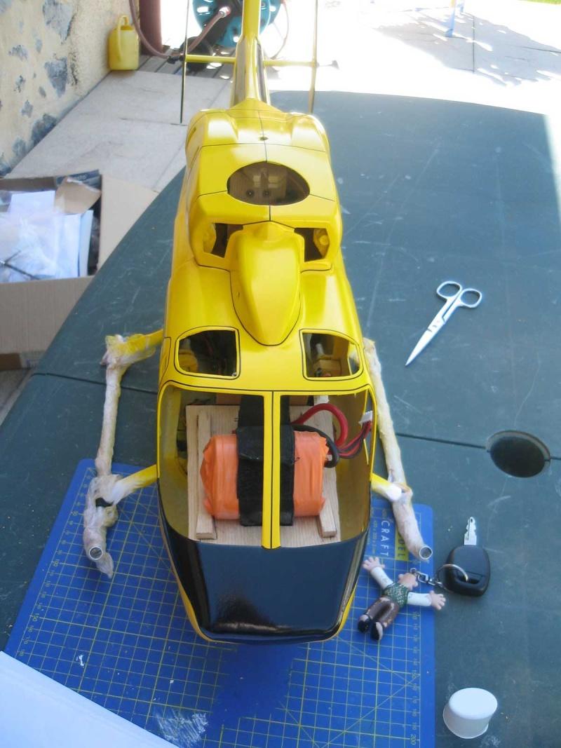 Construction bk117 à partir mécanique eco7