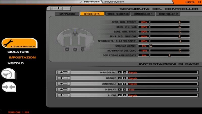 Impostazioni / Setup joypad XBOX 360 per rFactor : Assistenza