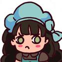 Voilà ma participation au défi brun et bleu, Little Miss Muffin (ou LMM pour les intimes xD)