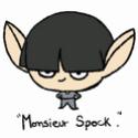 Pour le concours SD, voilà mini Spock ! xD