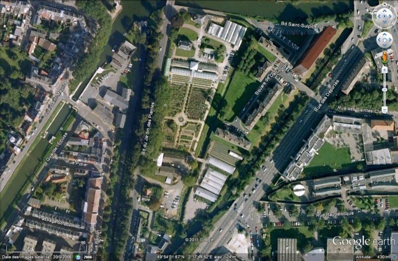 A la d couverte de la somme avec google earth page 3 - Jardin des plantes amiens ...