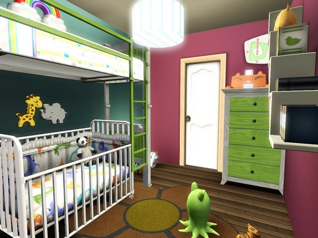 Concours clos le mobil home page 6 for Sims 3 chambre bebe