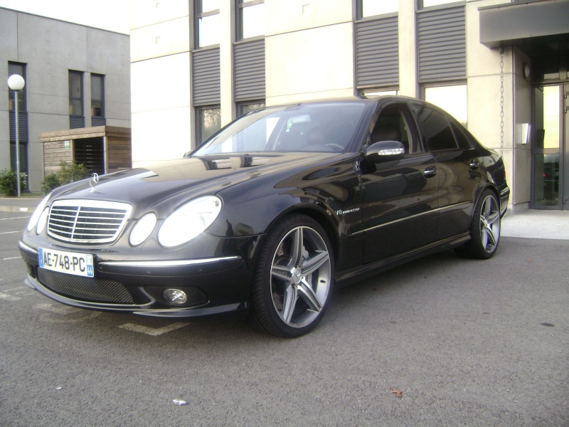 Vends mercedes e55 amg v8 kompressor for Mercedes benz v8 kompressor