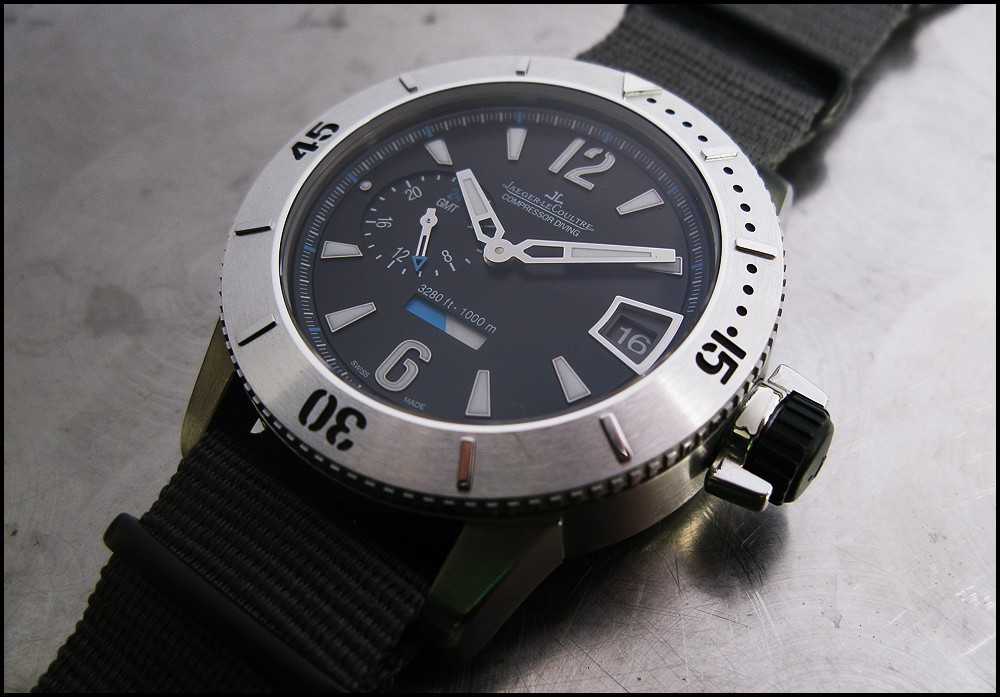 71eb015b2b7 JLC - Master Compressor Diving GMT, a review...