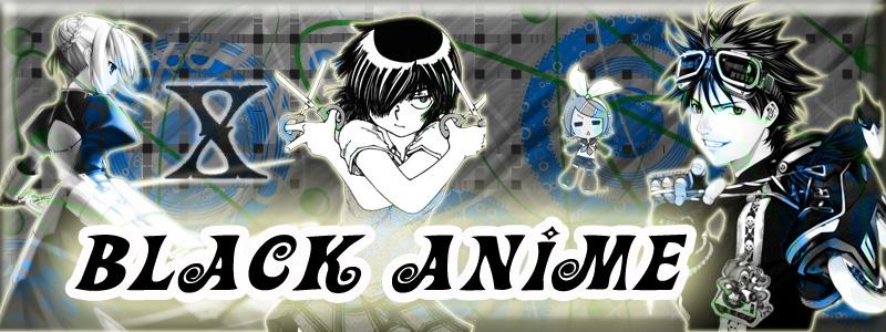 Black Anime