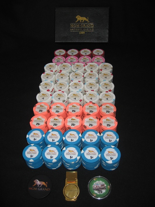 Mgm grand poker chip sets