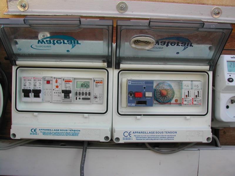 Remplacement horloge dans coffret de l 39 escawat - Remplacement tableau electrique prix ...