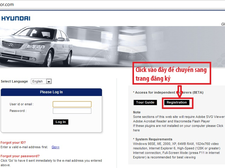 ccc.hyundai motor.com пароль
