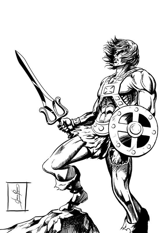 Luca papeo projects disegni for Cavalieri dello zodiaco da colorare
