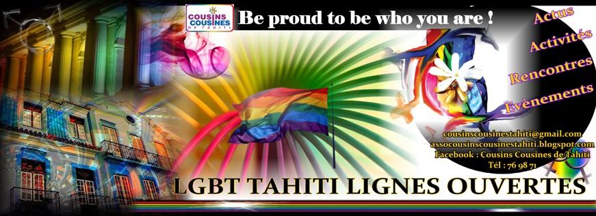 LGBT TAHITI - Cousins Cousines de Tahiti