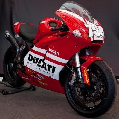 Ducati Monster Desmosedici Edition Actualites