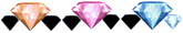 Diamond x 31
