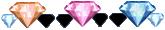 Diamond x 32