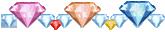 Diamond x 38