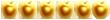 Gold Apple x6