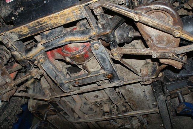 Передний мост нива ремонт своими руками 79