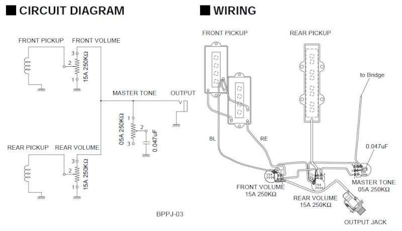 Schema Elettrico Amplificatore Per Basso : Tono basso elettrico