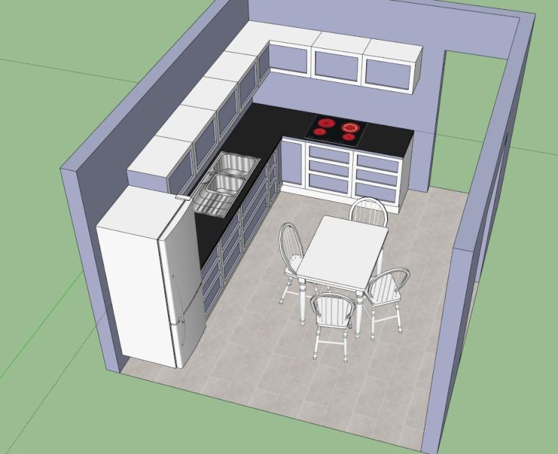 Cuisine nouvelle maison gwladana quelques news for Nouvelles dispositions de maison