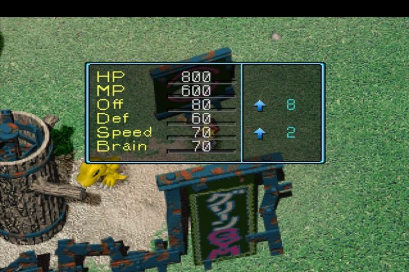 Digimon world 1 slot machine