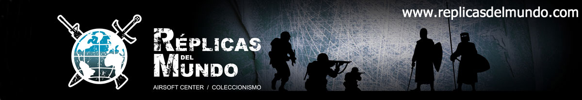 REPLICAS DEL MUNDO - AIRSOFT CENTER