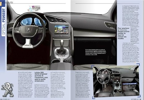 2016 peugeot 3008 ii p84 for Interieur peugeot 3008