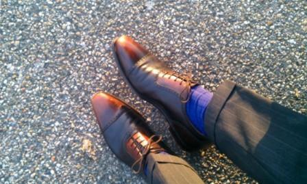 Pantalon noir et chaussure marron - Costume gris chaussure marron ...