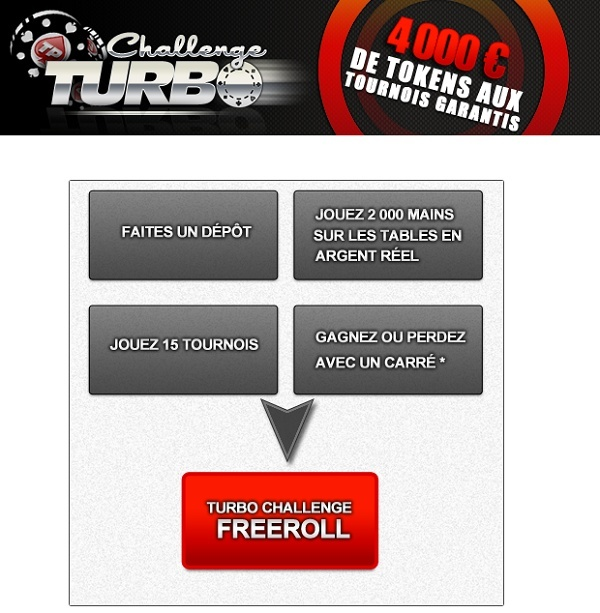 Turbo Challenge Freeroll