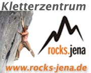 rocks. Kletterzentrum in Jena