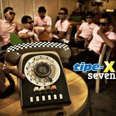 Tipe-X - Seven (Full Album)
